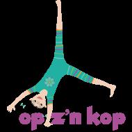 yoga op zijn kop
